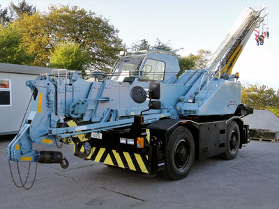 City Crane Hire - 20-Ton Tadano TR-200EXC in Dublin, Kildare, Meath, Wicklow and across Ireland