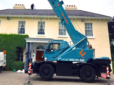 20 Ton City Crane For Hire in Dublin, Kildare, Meath, Wicklow and across Ireland