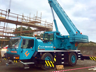 35 Ton City Crane For Hire in Dublin, Kildare, Meath, Wicklow and across Ireland