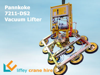 Pannkoke 7211-DS2 600kg Vacuum Glass Lifter for Hire