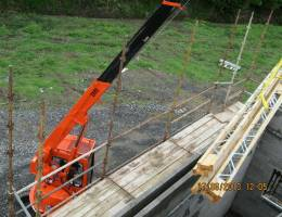 Hire Mini Cranes for domestic or commercial construction sites