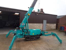 Spider Crane Hire - our Maeda MC285 is one of our most popular models of mini crane