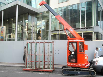 Glass Lifting Equipment and Vehicles