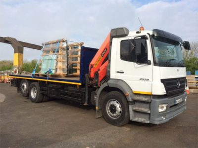 HIAB Crane Trucks for Hire in Dublin, Kildare and across Ireland