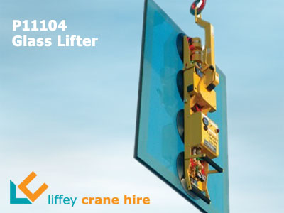 P11104 Glass Vacuum Lifter Hire