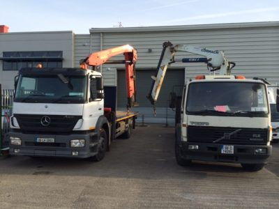 HIAB Lorry-mounted Crane Hire