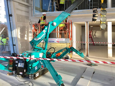 Mini Spider Cranes for Hire in Dublin, Kildare, Wicklow and across Ireland
